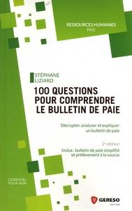 100 questions pour comprendre le bulletin de paie - Décrypter, analyser et expliquer un bulletin de paie.pdf