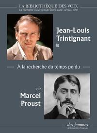 Marcel Proust - A la recherche du temps perdu. 1 CD audio MP3