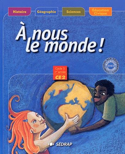 SEDRAP - A nous le monde CE2.