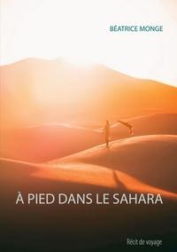 Béatrice Monge - A pied dans le Sahara.