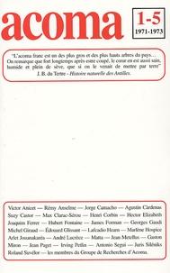 James Forman et  Collectif - Acoma N° 1 à 5, 1971-1973 : Acoma. - 1-5.