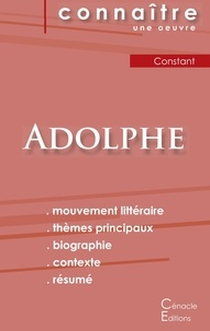 Benjamin Constant - Adolphe - Fiche de lecture.