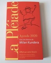 Milan Kundera - Agenda Pléiade 2020.
