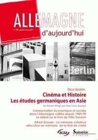 Jean-Louis Georget - Allemagne d'aujourd'hui N° 195, Janvier-Mars : Cinéma et histoire ; Les études germaniques en Asie.