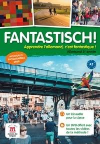 Maison des langues - Allemand 3e année Fantastisch!. 1 DVD + 2 CD audio