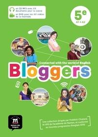 Frédéric Chotard - Anglais 5e A1-A2 Bloggers. 1 DVD + 1 CD audio