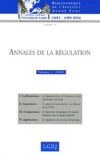 Thierry Revet - Annales de la régulation N° 1 : .