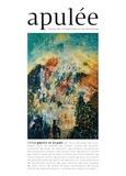 Hubert Haddad - Apulée N° 3/2018 : La guerre et la paix.