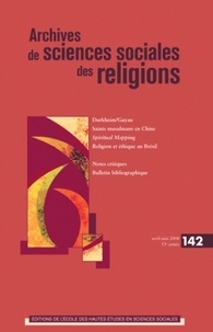 André Mary et Pierre Lassave - Archives de sciences sociales des religions N° 142, Avril-Juin 2 : .
