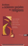 André Mary - Archives de sciences sociales des religions N° 149, Janvier-mars : .