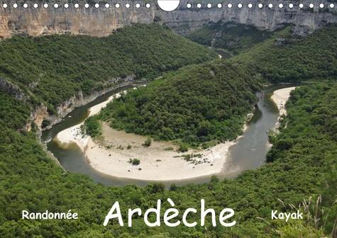 Ardèche - Randonnée & Kayak (Calendrier mural 2020 DIN A4 horizontal). Cévenne ardéchoise (Calendrier mensuel, 14 Pages )