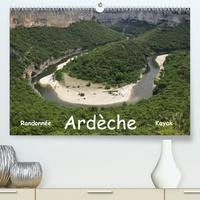 Jens Teichmann - Ardèche - Randonnée & Kayak (Calendrier supérieur 2020 DIN A2 horizontal) - Cévenne ardéchoise (Calendrier mensuel, 14 Pages ).
