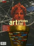 Alin Avila et Robert Albouker - Area revue)s( N° 14, Mars 2007 : Art Artistes Etat.