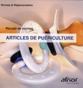 AFNOR - Articles de puériculture. 1 Cédérom