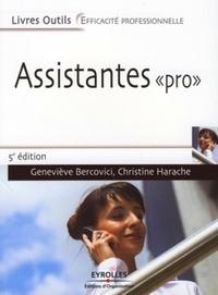 """Christine Harache - Assistantes """"Pro"""" - Quatre missions : accueillir, gérer l'information, communiquer, organiser."""
