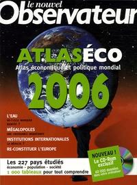 Bertrand Clare et Marc Touati - Atlaséco 2006. 1 Cédérom