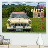 Thierry Planche - AUTO MOBILE (Calendrier supérieur 2020 DIN A2 horizontal) - Rassemblement de véhicules anciens (Calendrier mensuel, 14 Pages ).