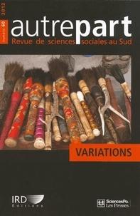 Nolwen Henaff - Autrepart N° 60, 2012 : Variations.