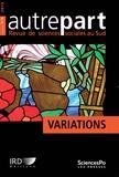 Jean-Paul Moatti - Autrepart N° 74-75, 2015 : Variations.