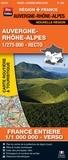 Blay-Foldex - Auvergne-Rhône-Alpes, 1/275 000, recto - France entière, 1/1 000 000, verso.