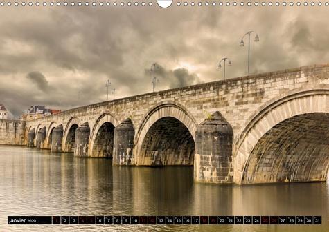 Balade à Maastricht (Calendrier mural 2020 DIN A3 horizontal). Cité d'histoire et de culture, Maastricht est une des villes les plus romantiques des Pays-Bas. (Calendrier mensuel, 14 Pages )