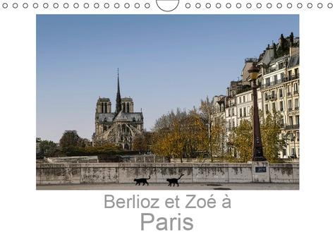Calendrier Mural Grand Format.Berlioz Et Zoe A Paris Calendrier Mural Grand Format