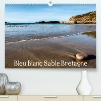 Bruno Toffano aphrodite pix art - Bleu Blanc Sable Bretagne (Calendrier supérieur 2020 DIN A2 horizontal) - Promenade côte à côte à travers la Bretagne. (Calendrier mensuel, 14 Pages ).