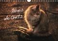 Viktor Gross - Blues de Chats (Calendrier mural 2020 DIN A4 horizontal) - Des chats élevés avec le blues dans le sang ! (Calendrier mensuel, 14 Pages ).