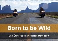 Mike Kaercher - Born to be wild, les Etats-Unis en Harley-Davidson - Les magnifiques paysages du Sud-Ouest américain vus de la selle d'une Harley.