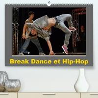 Alain Hanel - CALVENDO Art  : Break Dance et Hip-Hop (Premium, hochwertiger DIN A2 Wandkalender 2021, Kunstdruck in Hochglanz) - Des danseurs de Hip-Hop s'affrontent en exécutant différentes figures. (Calendrier mensuel, 14 Pages ).