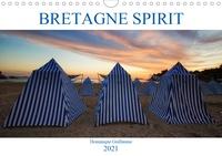 Dominique Guillaume - CALVENDO Places  : Bretagne Spirit (Calendrier mural 2021 DIN A4 horizontal) - La Bretagne en couleurs, côté Armor et Argoat (Calendrier mensuel, 14 Pages ).