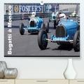 Alain Hanel - Bugatti en course à Monaco (Calendrier supérieur 2020 DIN A2 horizontal) - Ettore Bugatti a signé un mythe (Calendrier mensuel, 14 Pages ).