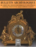 Marianne Besseyre et Danielle Gaborit-Chopin - Bulletin Archéologique N° 34/2008 : .