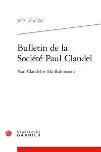 Bulletin de la société Paul Claudel N° 228/2019-2.pdf
