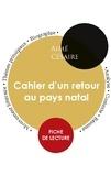 Aimé Césaire - Cahier d'un retour au pays natal - Fiche de lecture.