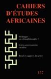Jean-Loup Amselle - Cahiers d'études africaines N° 157/2000 : .