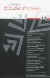 Jean-Loup Amselle - Cahiers d'études africaines N° 215/2014 : .
