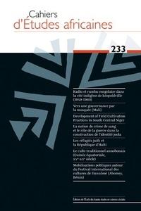 Cahiers détudes africaines N° 233/2019.pdf