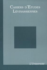 Gilles Hanus - Cahiers d'Etudes Lévinassiennes N° 10 : L'Université.