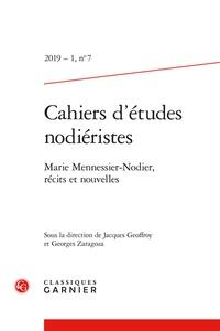 Cahiers dEtudes Nodiéristes N° 7/2019.pdf