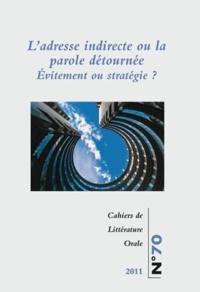 Cahiers de Littérature Orale N° 70/2011.pdf