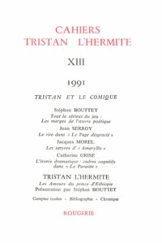 Cahiers Tristan L'Hermite N° 13, 1991