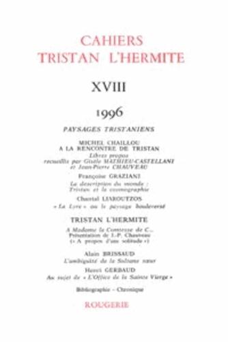 Cahiers Tristan L'Hermite N° 18, 1996