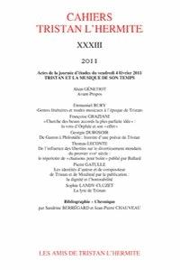 Alain Génetiot - Cahiers Tristan L'Hermite N° 33, 2011 : .