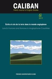 Françoise Besson - Caliban N° 61/2019 : Ecrits et cris de la terre dans la monde anglophone.
