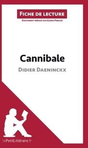 Elena Pinaud - Cannibale de Didier Daeninckx - Fiche de lecture.