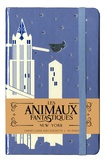 SODIS - Carnet Papeterie Gallimard Les Animaux Fantastiques 9x14 New York