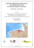 Ifremer - Carte des formations superficielles du domaine marin côtier de l'anse de Paimpol à Saint-Malo (Côtes d'Armor - Ille-et-Vilaine) - 1/50 000.