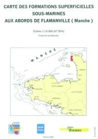 Claude Augris - Carte des formations superficielles sous-marines aux abords de Flamanville (Manche) - 1/15 000.