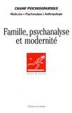 Annie Roux et Marcel Gauchet - Champ Psychosomatique N° 47, Novembre 2007 : Famille, psychanalyse et modernité.